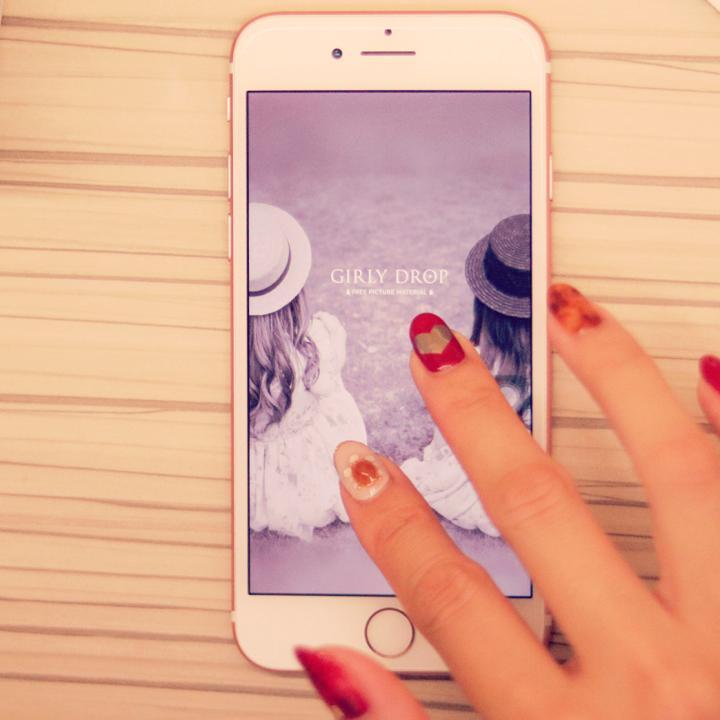 ネイルをインスタ映えさせる加工方法!iPhone標準アプリでも簡単にできます♡