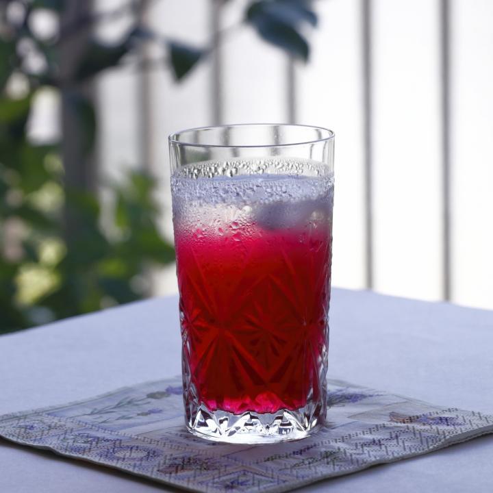 透け感のネイルポリッシュでちゅるんネイルに!話題のシロップ「紫蘇ジュース」の良さは?