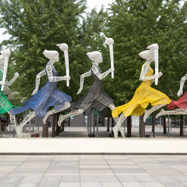オリンピックのネイルのデザインは?東京2020オリンピックの応援ネイルを拝見!
